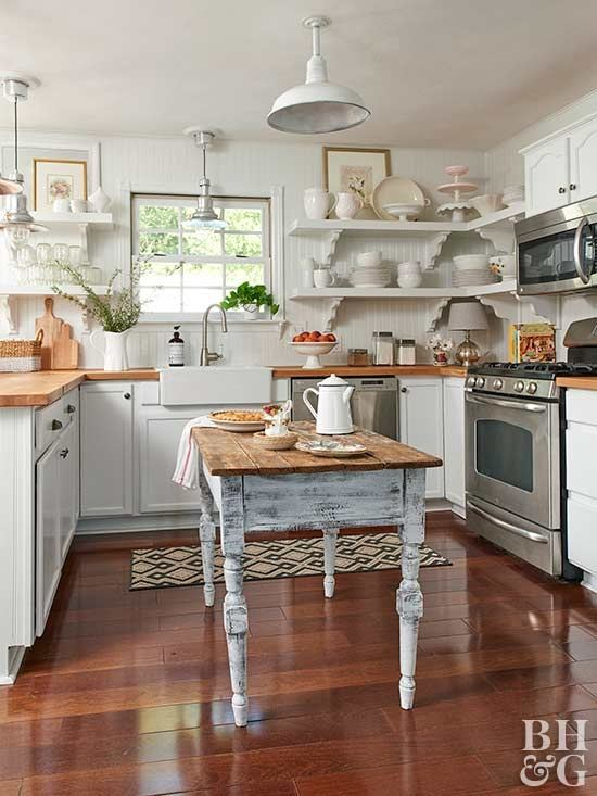 expanded, Country kitchen ideas
