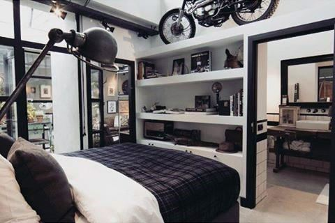 masculine home office decor manly decorating ideas industrial off