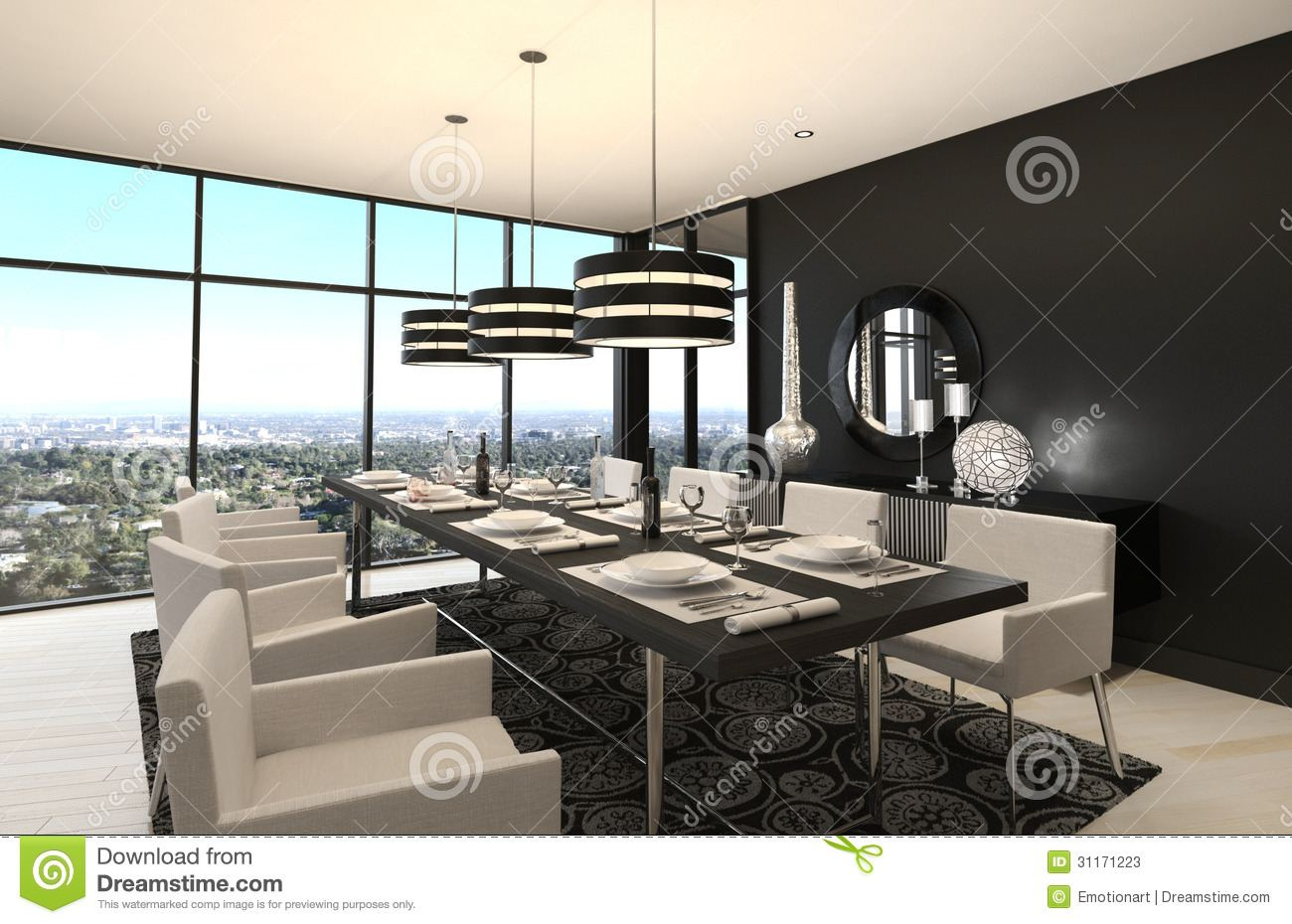 Creating a functional, modern dining room is easy
